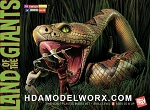 Land of the Giants Snake Diorama 1/48 Scale Model Kit by Doll & Hobby GA  COMING SOON!